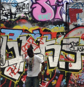what he thinking mah blog bboy and graff